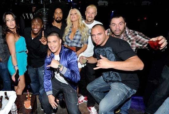 Silver Star Pre-Fight Party at Studio 54, Las Vegas, July 3