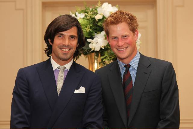 Nacho Figueras and HRH Prince Henry of Wales