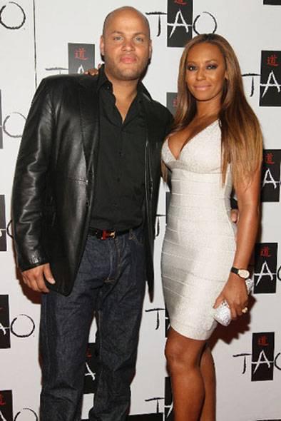 Stephen Belafonte & Mel B at TAO