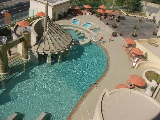 Raffles Hotel and Resort Pool Dubai