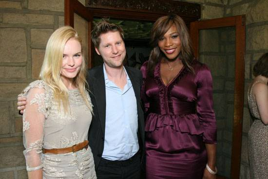 Kate Bosworth, Christopher Bailey and Serena Williams