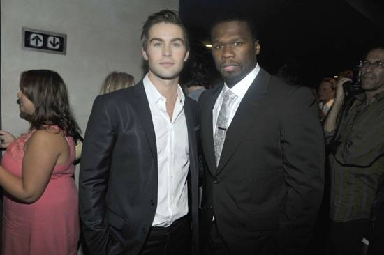 Chace Crawford and 50 Cent