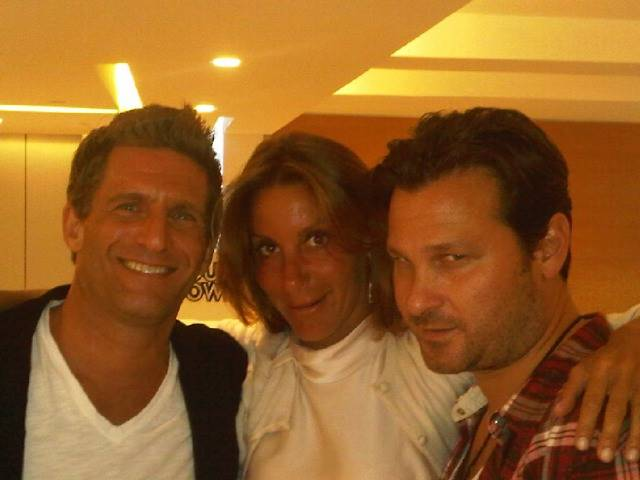 At Soho House, Jason Pomeranc and Gary Gilbert