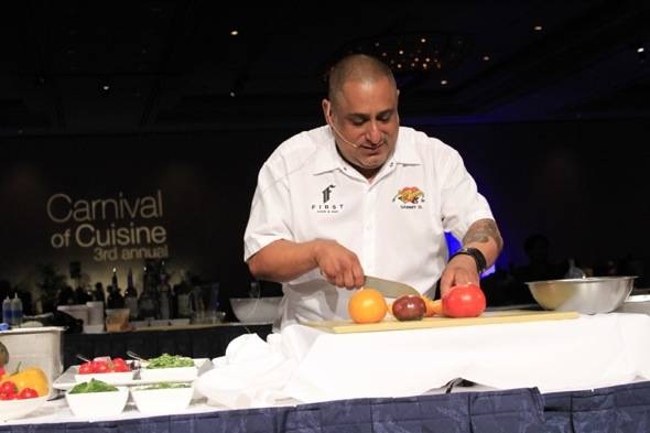 Carnival of Cuisine Chef Sammy DeMarco