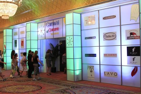 Carnival of Cuisine entrance