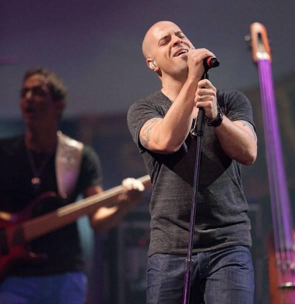Chris Daughtry singing at The Joint- credit Erik Kabik RETNA erikkabik.com