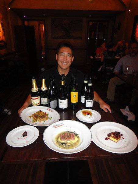 Patrick Okubo, Sommelier at Formaggio Grill