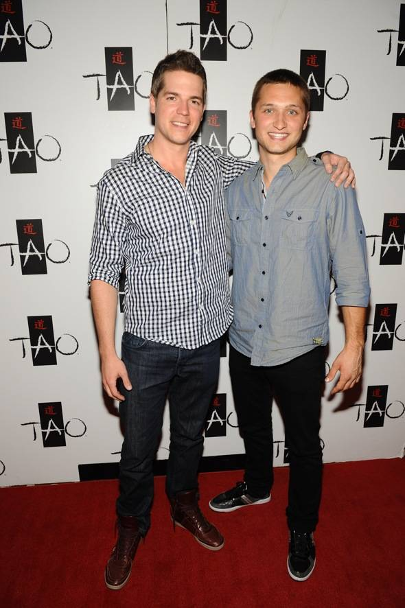 Jason Kennedy & Jordan Wagner at TAO