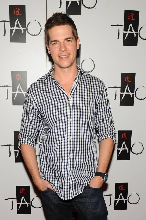 Jason Kennedy TAO red carpet
