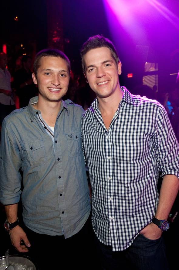 Jordan Wagner & Jason Kennedy at TAO