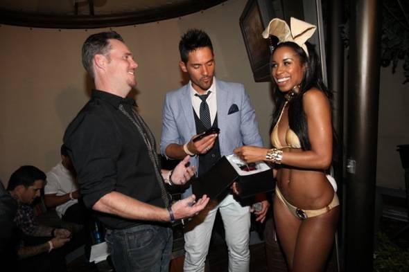 Kevin Dillon, JROC (9 Group), Chandella Powell(Playboy Bunny)