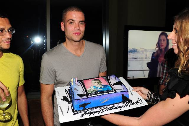 Mark Salling B-Day Cake