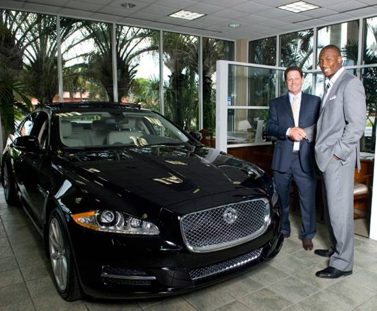 Brandon Marshall Sports Ambassador Deal With Warren Henry Automobiles    Haute Living