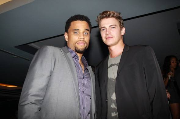 Michael Ealy and Hayden Christensen