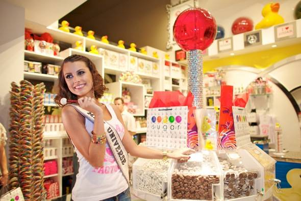 Miss Universe Shops at Sugar Factory Mirage (Larios)