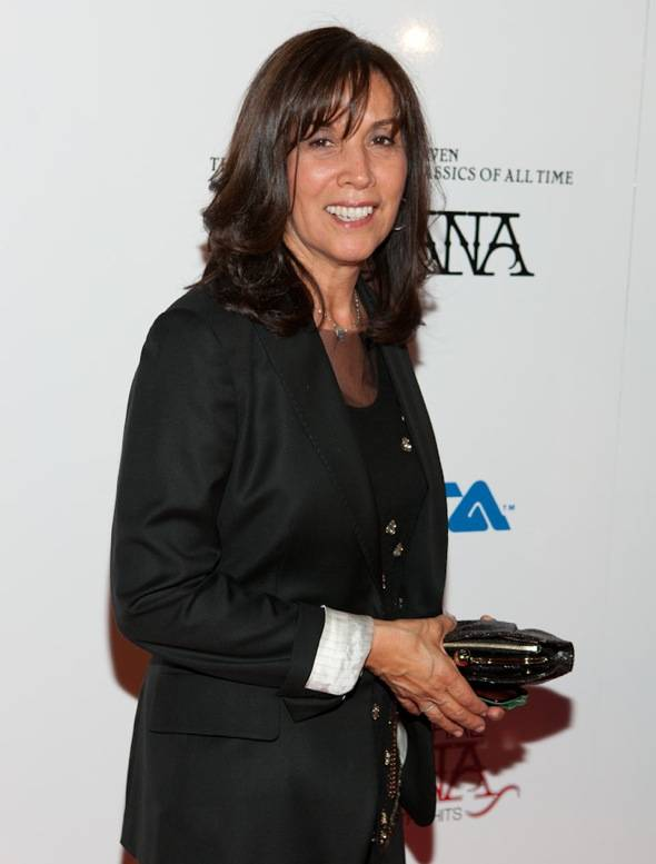 Olivia Harrison at VIP Listening Event Red Carpet- credit Erik Kabik RETNA erikkabik.com