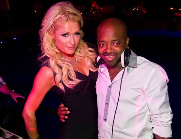 Paris Hilton and Jermaine Dupree
