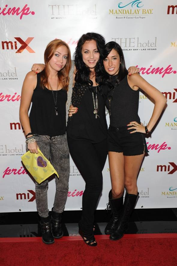 Brandi Cyrus, Julia Ross, and Codi Cararo