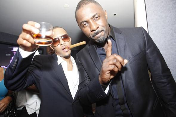 TI with Idris Elba