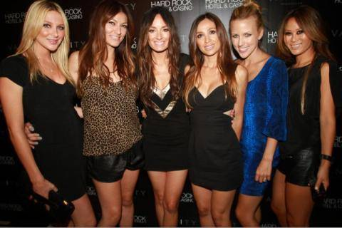Vanity red carpet Catt Sadler birthday crew_Hard Rock Hotel_0003