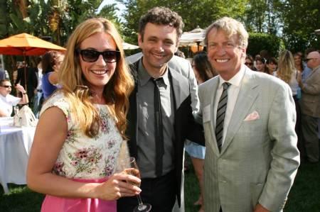 Cat Deeley, Michael Sheen and Nigel Lythgoe