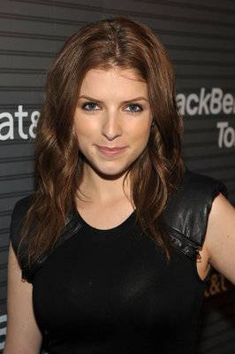 Actress Anna Kendrick arrives at the Blackberry Torch from AT&T U.S. Launch Party on August 11, 2010 in Los Angeles, California.