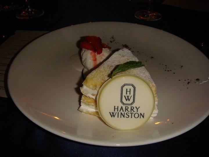 sinfully sweet dessert