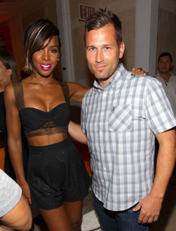 Kelly Rowland and DJ Kaskade