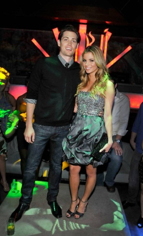 Amber Lancaster and Zack Conroy at Tabu Ultra Lounge, 9.18.10