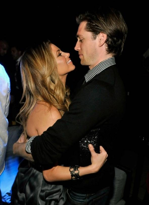 Amber Lancaster and Zack Conroy at Tabu Ultra Lounge1, 9.18.10
