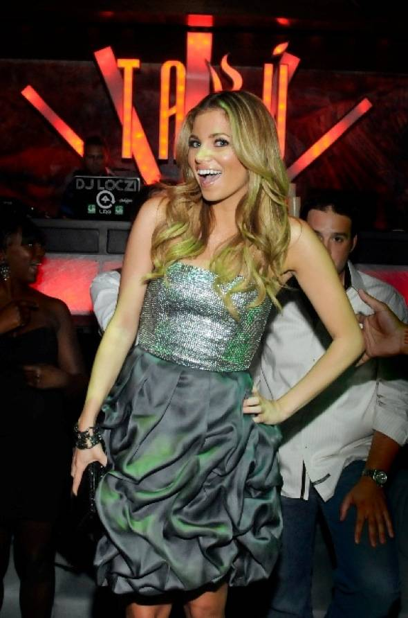 Amber Lancaster at Tabu Ultra Lounge 4, 9.18.10