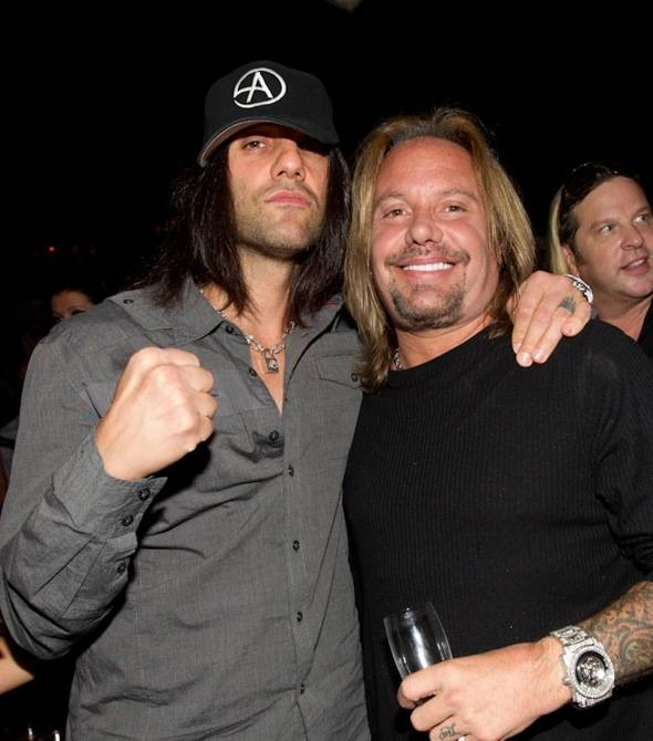 Criss Angel, and Vince Neil
