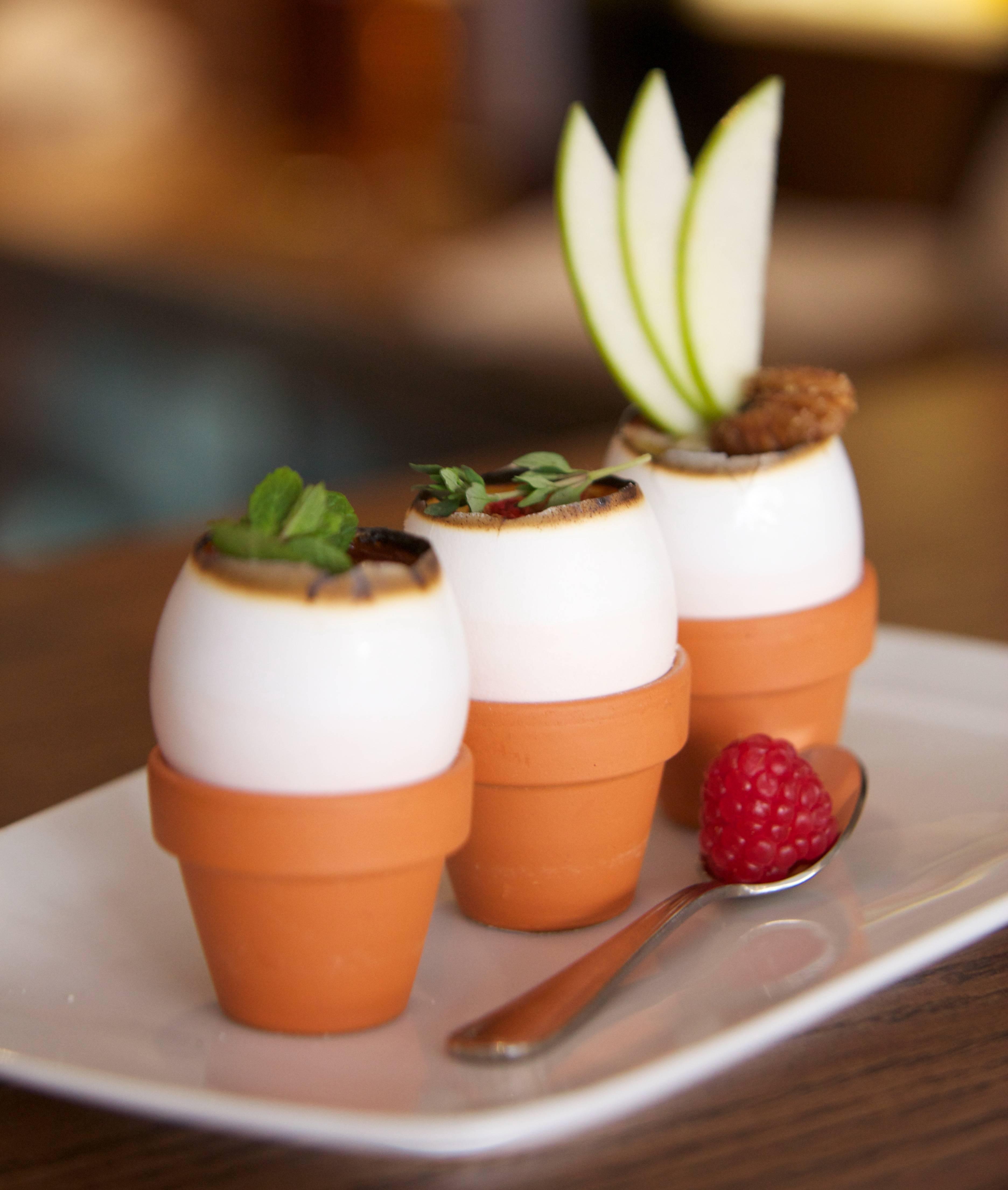 Creme Brulee Egglings