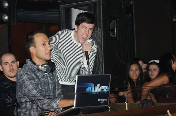 DJ Vice & Chris Mintz Plasse at TAO