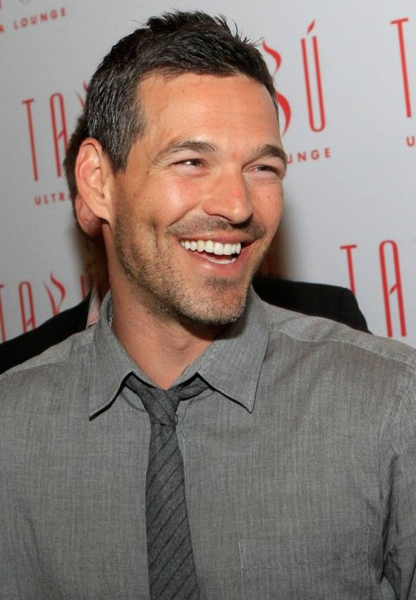 Eddie Cibrian on the carpet at Tabu Ultra Lounge