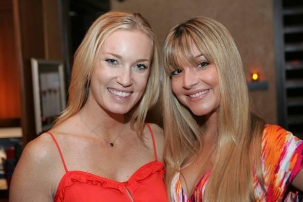 Erika Thomas and Sarah Schiea