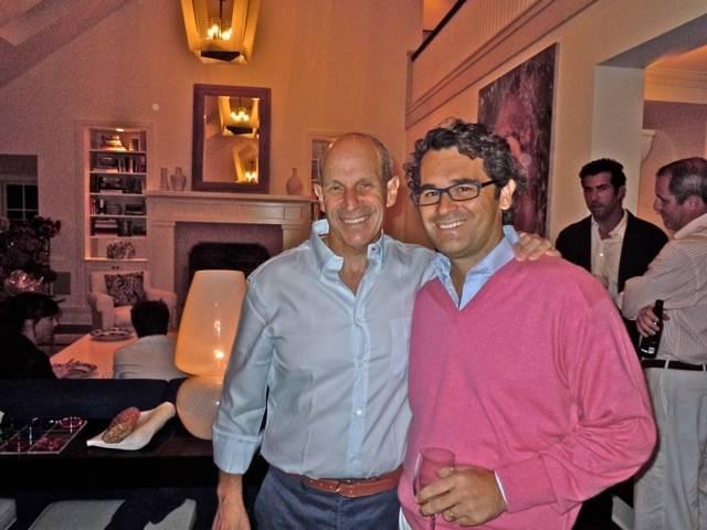 Jon Tisch and Greg Meyer
