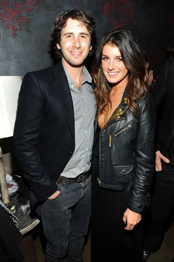 Singer Josh Groban and actress Shenae Grimes attend the Charlotte Ronson Spring 2011 after party during Mercedes-Benz Fashion Week at Avenue on September 11, 2010 in New York City.