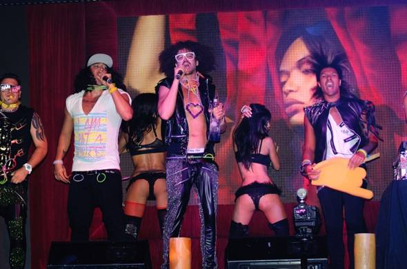 LMFAO & Party Rock Crew at TAO
