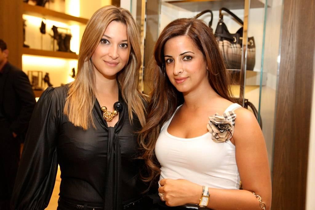 Laura Gatsos- Nour Ajam Al Sabbah-Burberry Dubai Mall VIP Event