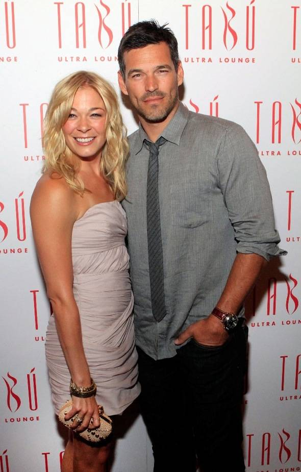 LeAnn Rimes and Eddie Cibrian at Tabu Ultra Lounge