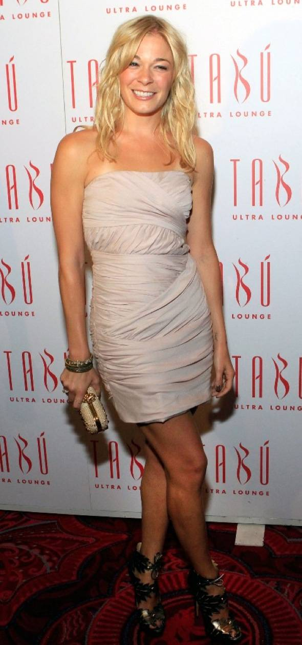 LeAnn Rimes on the carpet at Tabu Ultra Lounge