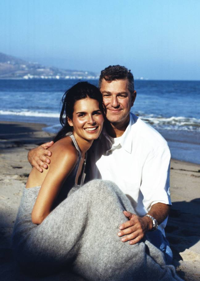 Mark with Angie Harmon