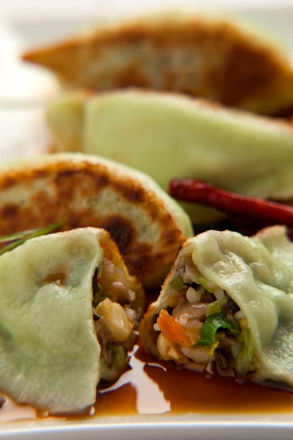 RedFarm. Vegetable Potstickers