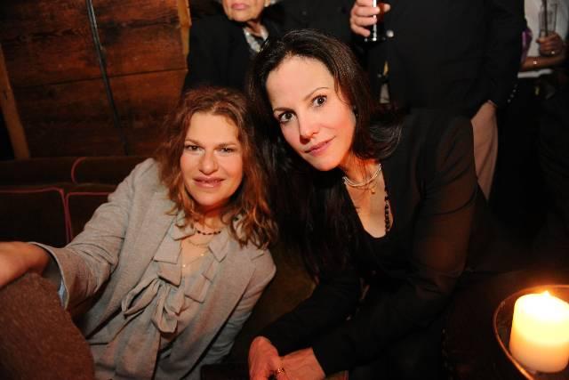 Sandra Bernhardt & Mary Louise Parker