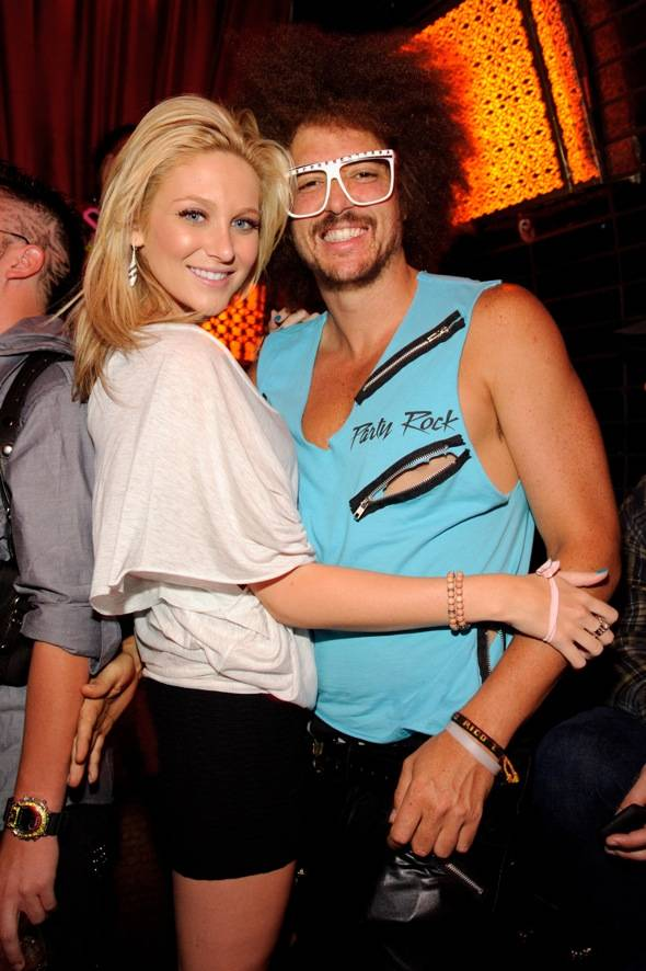 Stephanie Pratt & Redfoo at LAVO