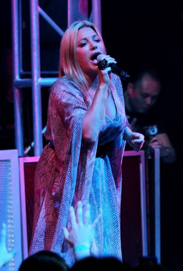 Taylor Dayne performs at Studio 54 Las Vegas 3, 9.5.10