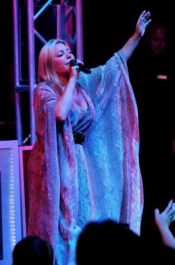 Taylor Dayne performs at Studio 54 Las Vegas 4, 9.5.10