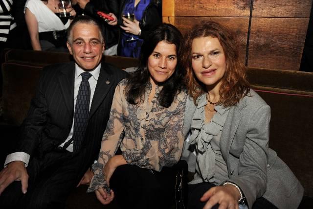 Tony Danza, Sara Switzer & Sandra Bernhardt