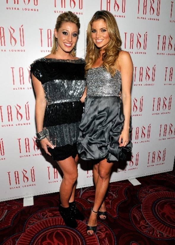 Vienna Girardi and Amber Lancaster at Tabu Ultra Lounge 2, 9.18.10